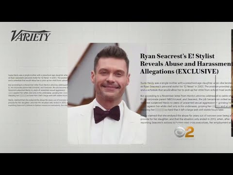 Seacrest Accused Of Sexual Harassment