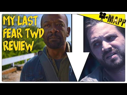 I can't watch this show anymore... sorry Fear TWD Season 4 Finale REVIEW