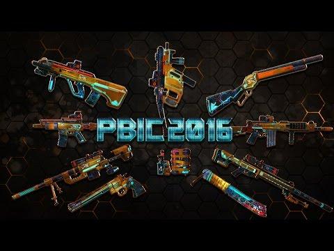 รีวิว PBIC 2016 เปิดตัวพร้อมปืนใหม่!!K2C พร้อมสเป็กปืน + แม่นทุกกระบอก Series Ft.G เลม่อน