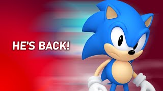 Classic Sonic to Return for 30th Anniversary Sonic The Hedgehog Game