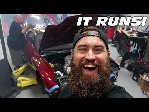 STARTING THE FD RX-7 FOR THE FIRST TIME!!!! (IT'S ALIVE!!!!!!)