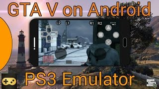 GTA V on Android - PS3 Emulator | Gameplay