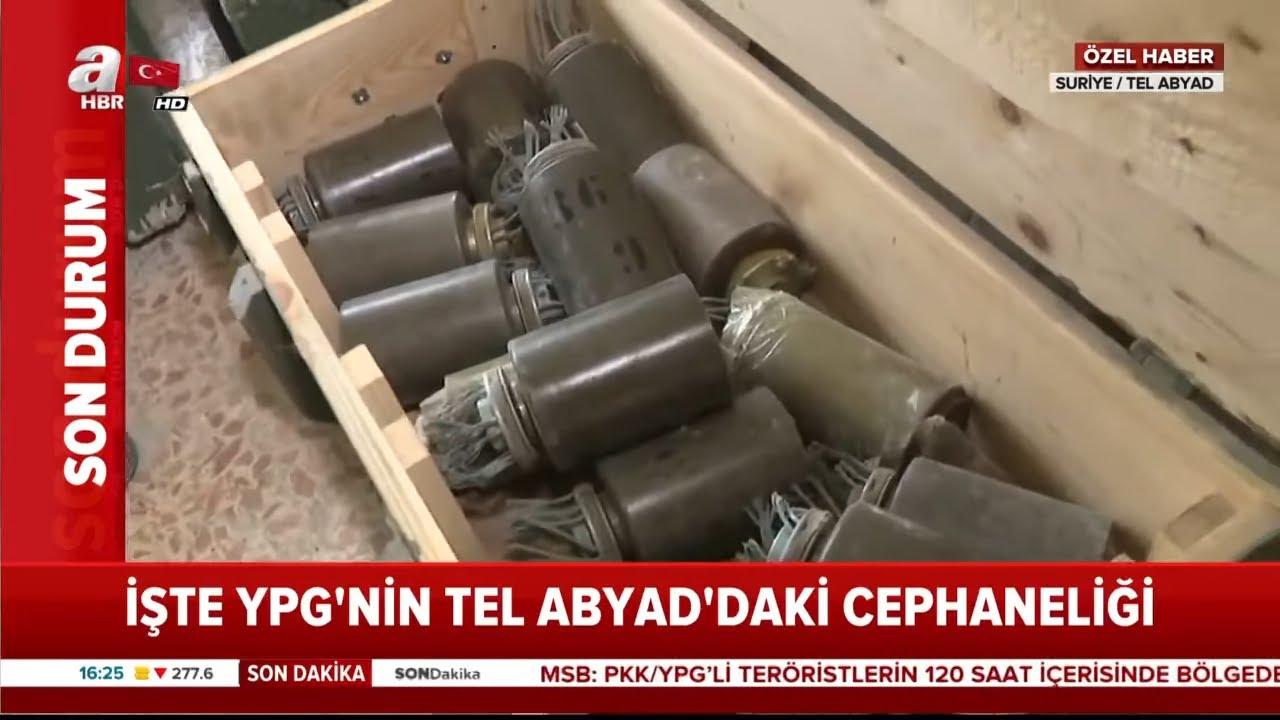 İşte YPG'nin Cephaneliği! / A Haber