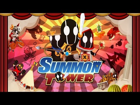 Summon Tower (by M-etel Co., Ltd.) - iOS / Android - HD Gameplay Trailer