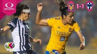 Final Regia en suspenso | Tigres 1 - 1 Monterrey | Liga MX Femenil - Final ida | Televisa Deportes