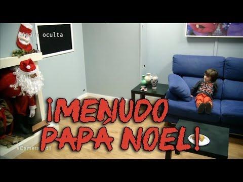 Cámara oculta de niños en El Hormiguero - Papá Noel