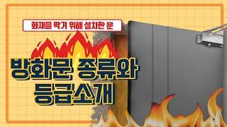 (주) 에이스 목재 방화문 종류와 등급소개!!!