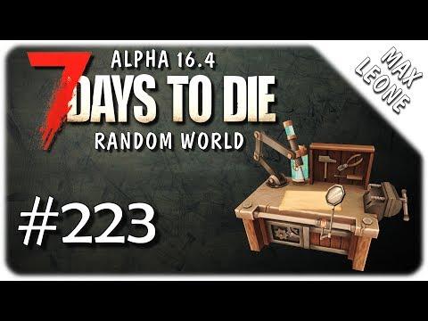 7 Days To Die. Alpha 16.4 - #223 - ВЕРСТАЧОК