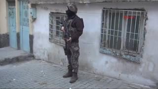 Gaziantep 200 Polisle Şafak Operasyonu 15 Gözaltı
