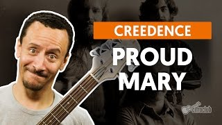 Proud Mary - Creedence Clearwater Revival (aula de baixo)