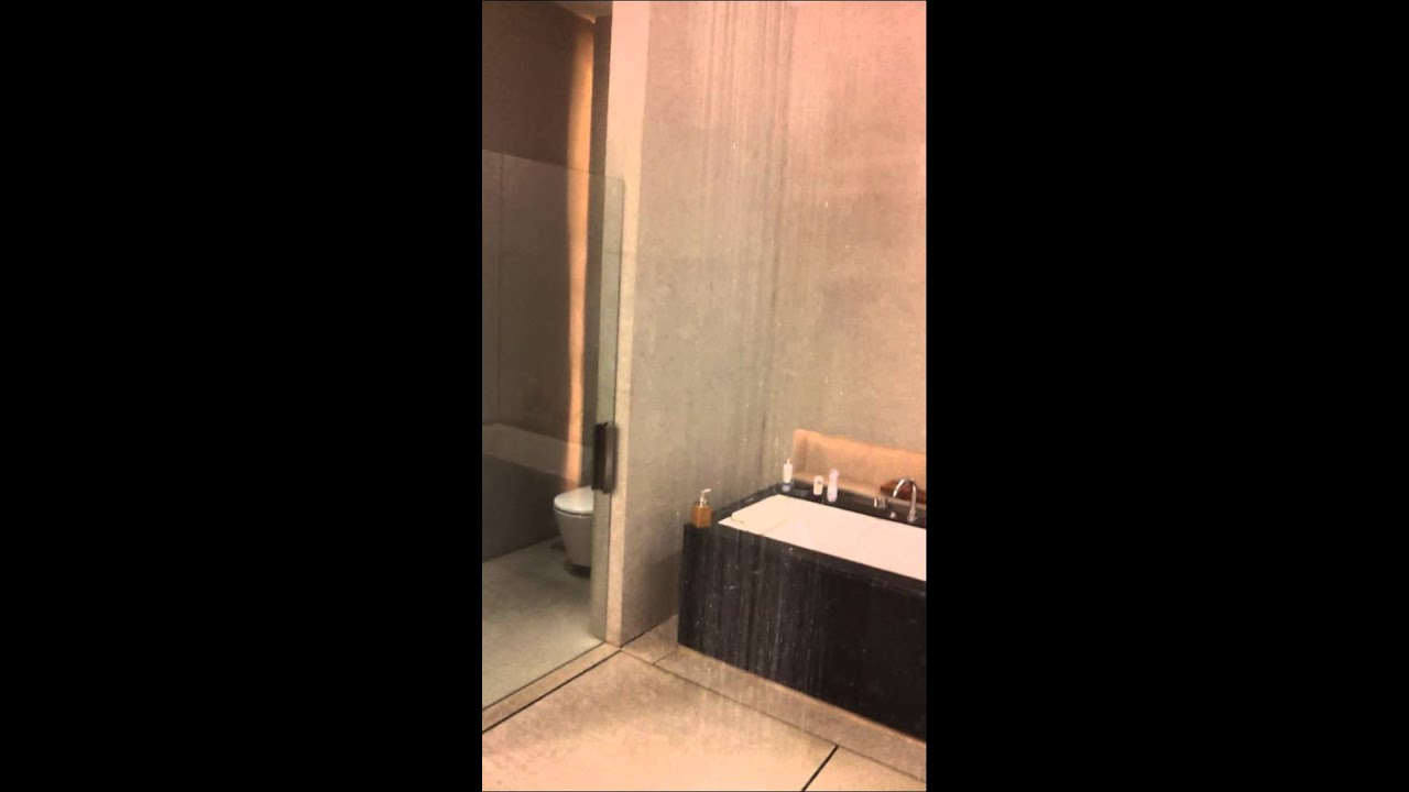 Rain shower bathroom in hotel de la paix Cha-am - YouTube