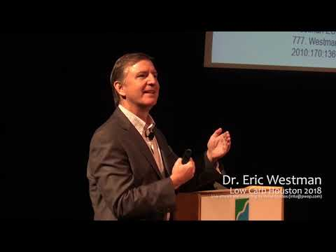 Eric Westman At Low Carb Houston 2018