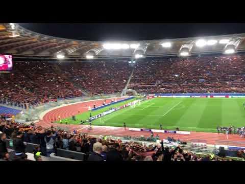 Inno As Roma - Roma-Barcellona - Il Giornale di Roma