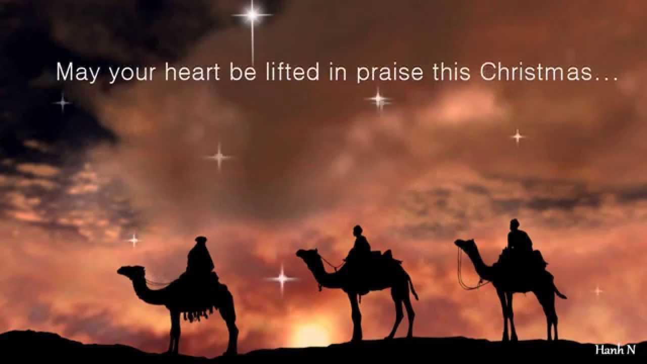 Christian Christmas.Animated Traditional Christian Christmas E Card