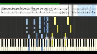 Robbie Williams - Come undone [Piano Tutorial] Synthesia
