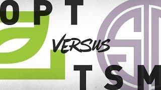 OPT vs. TSM - Week 9 Day 1   NA LCS Summer Split   OpTic Gaming vs. TSM (2018)