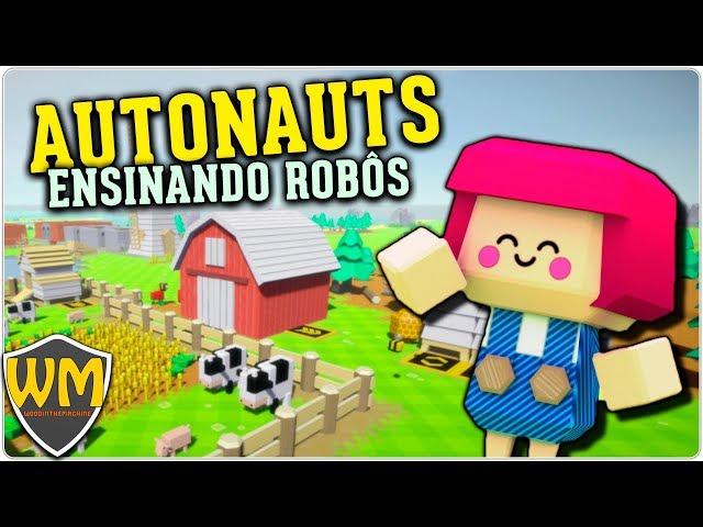 Autonauts #14 - Robôs Chefs! - Gameplay PT BR