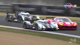 Allan McNish Unfall @ Le Mans 11.06.2011 in AUDI R18 TDI  |  Info-News