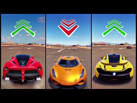 The Ultimate Battle! | Forza Horizon 3 | LaFerrari vs Reverse Regera vs P1