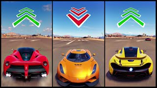 The Ultimate Battle! | Forza Horizon 3 | LaFerrari vs Reverse Regera vs P1