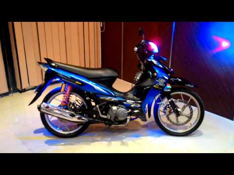 Suzuki Shogun SP 125 CC Tahun 2009 - Video Full Modifikasi