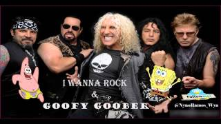 I Wanna Rock Vs Goofy Goober [Twisted Sister Ft. Tom Rothrock With Jim Wise & SpongeBob]