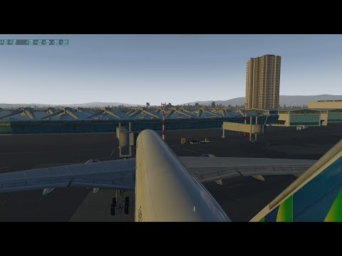 X-Plane 11 | FlightFactor A350-9 | Fort-de-France - Paris Orly