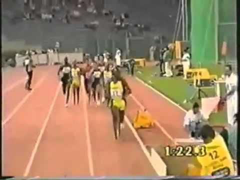 Hicham el Guerrouj bat record du 2000m 1999