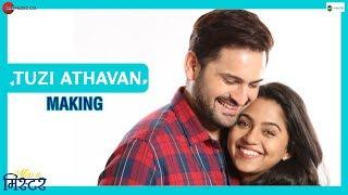Tuzi Athavan Making | Miss U Mister | Siddarth C & Mrunmayee D | Anandi Joshi & Alap Desai