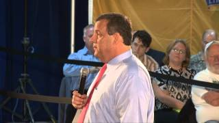 Governor Christie: When You