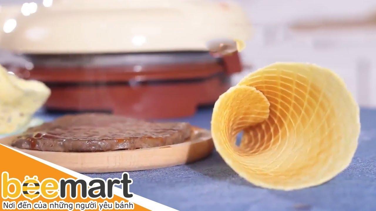 Hướng dẫn sử dụng Máy làm vỏ ốc quế tại nhà đơn giản và tiện dụng – BEEMART