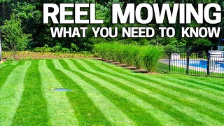 Reel Mower - Is REEL Mowing Right for You? - Mowing Low & Cylinder Lawn Mowing - How to Get Started