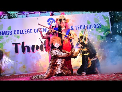 NAVA DURGA ACT BY 4th Yr GIRLS,TRILL 2k20|| KMBB COLLEGE OF ENGINEERING & TECHNOLOGY||