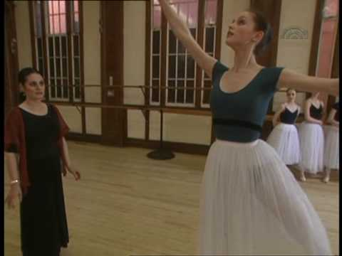 Veronica Tennant coaching young ballet students