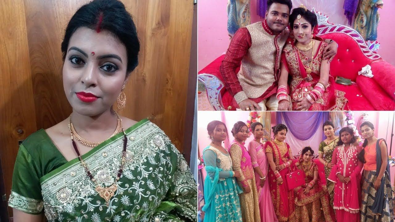 Going To Reception Party || My Bengali Makeup Look || MakeUbeautiful - YouTube