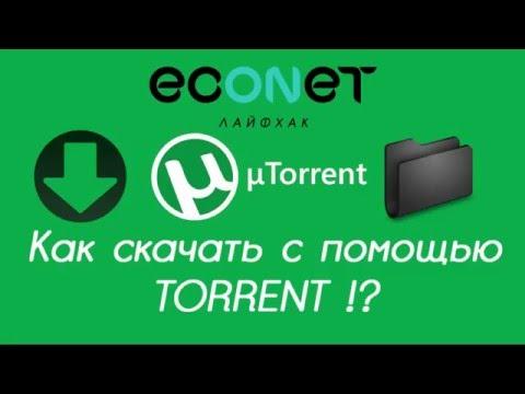 Как БЫСТРО скачать видео, музыку с помощью TORRENT (торента)! - econet.ru