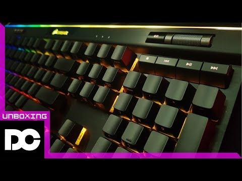 [DC튜브] CORSAIR K95 RGB PLATINUM 커세어 기계식 키보드! 내가 오리지널 커간지다! (언박싱&리뷰)