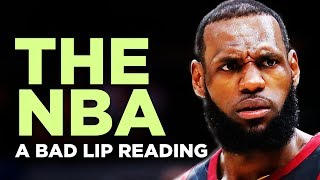 """THE NBA"" - A Bad Lip Reading"