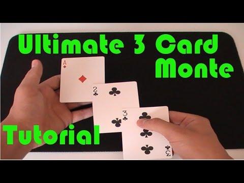 Ultimate 3 Card Monte (Magic Tutorial)
