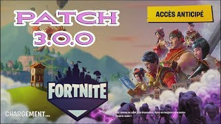 FORTNITE PATCH 3 0 0 PVE