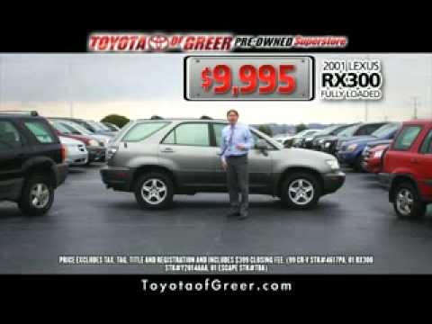 Pre Owned Specials, Toyota Of Greer  Greer, SC