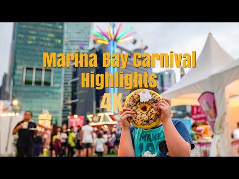 Marina Bay Carnival Games and Rides