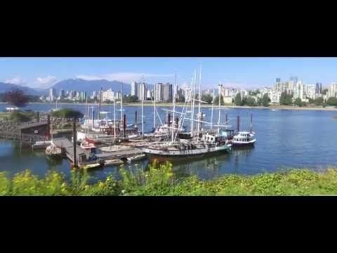 Drone Vancouver - green everywhere - British Columbia, Canada (drone Dji Phantom 3 Standard)