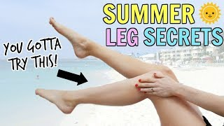 Secrets to Smoother Summer Legs