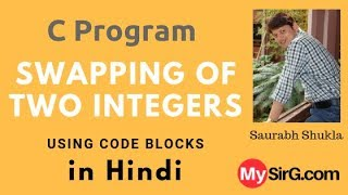 Programming in C  Swapping of two Integers