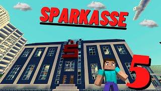 Minecraft Wir bauen eine Sparkasse #005 *[HD] Deko und Co und Fertig