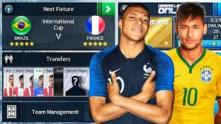 Brazil 🇧🇷 Vs 🇫🇷 France International Cup Final 🏆 Dream League Soccer 2018
