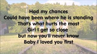 One Direction - Loved You First with Lyrics.mp4
