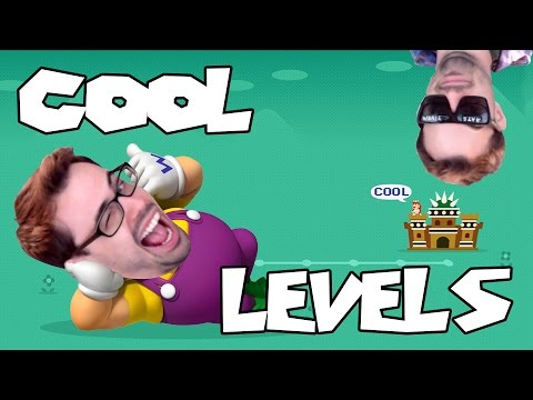 Mario Maker - Aperture Gravity Labs, Mechanical Jungle, and Crazy Glitches! | Cool Levels #6