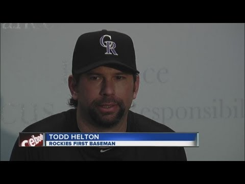 Todd Helton apologizes for DUI arrest